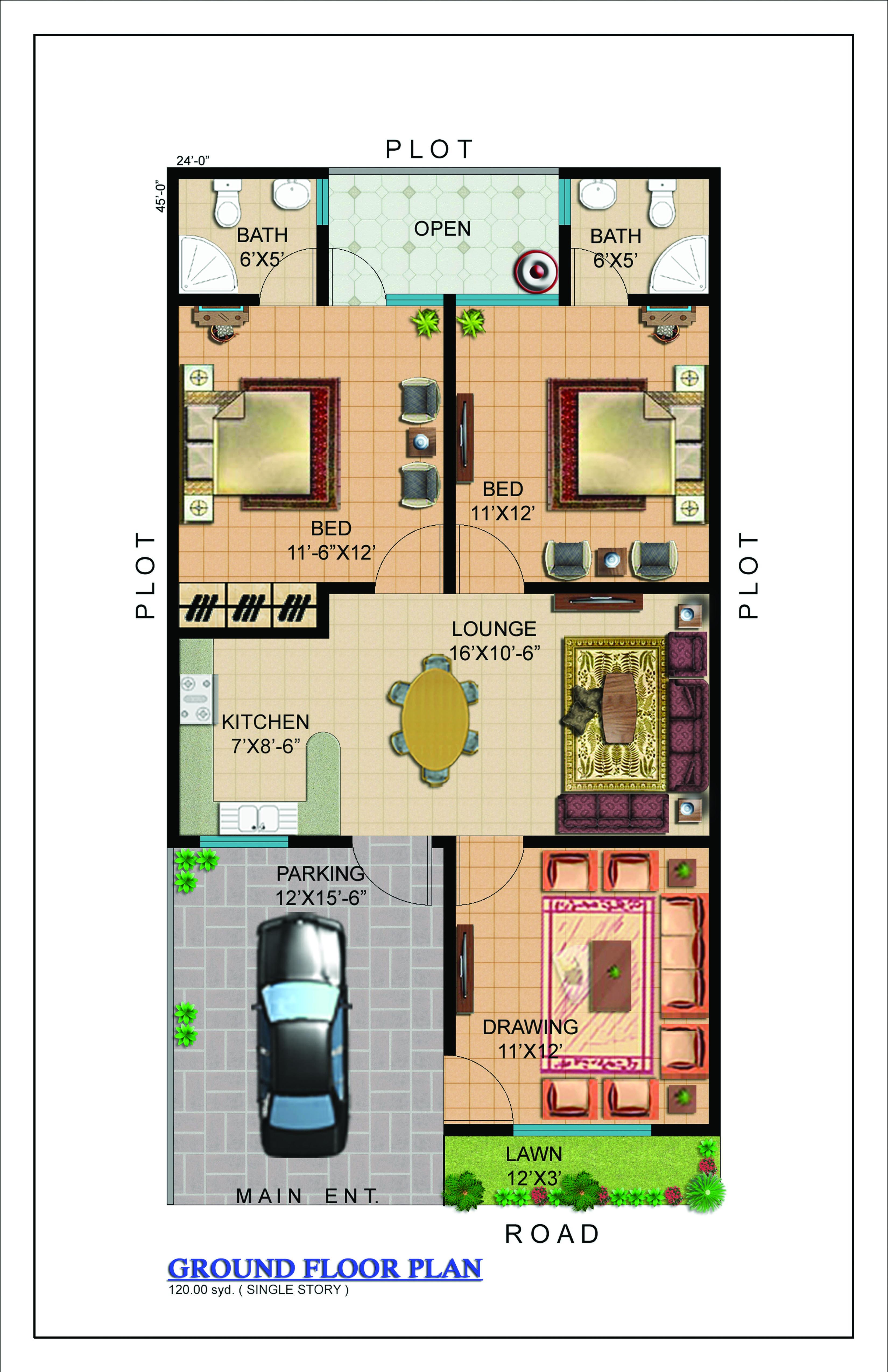 Floor plans gohar green city karachi property blog for City house plans